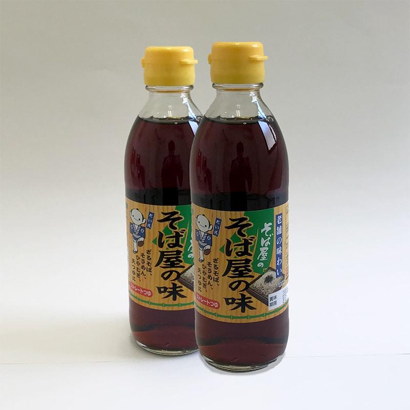 ストレートつゆの元祖〈そば屋の味〉